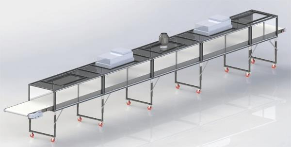 Trunk Line Conveyor System