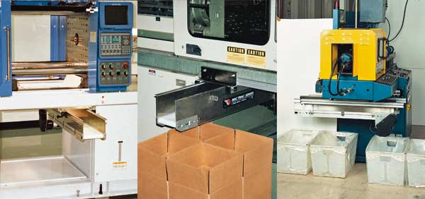 Plastic Molding Machines with Quick Change Rail System